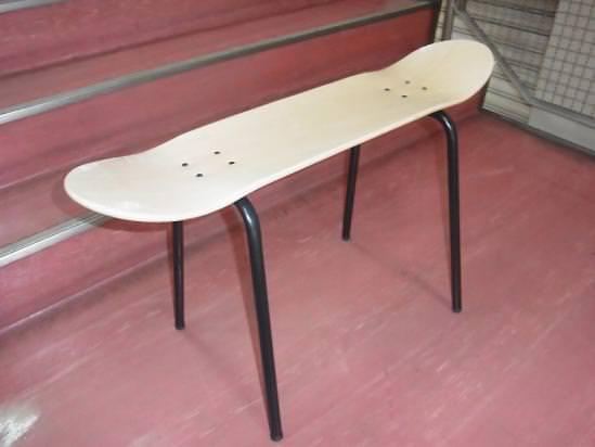 スケートデッキチェアー ベンチ2