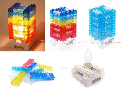Lego型ライト