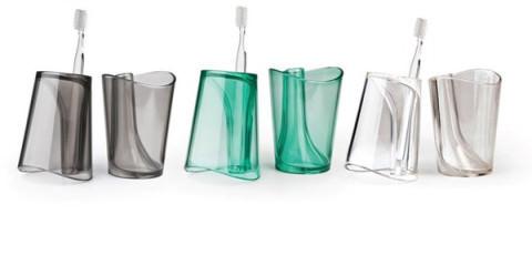 歯ブラシスタンド&タンブラー 「Flip Cup」