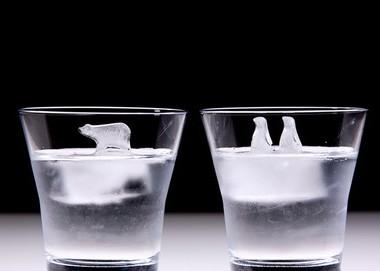 グラスの中に癒しの世界!キュンキュン萌える製氷機