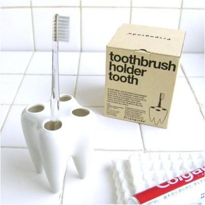 スタンドを虫歯にするなよ?歯形歯ブラシスタンド