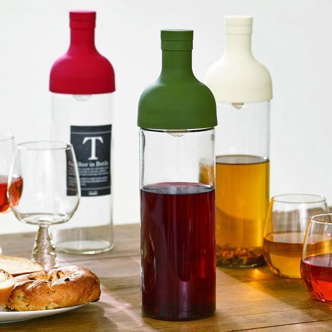 お茶で酔えるかも?ワインボトルっぽい水出し茶ボトル