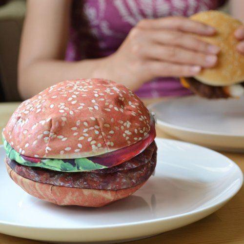 腹ペコに注意!本物みたいなハンバーガー型小物入れ