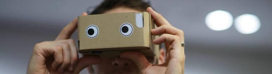 箱を覗いて現実逃避、仮想現実を手軽に楽しめるハコスコ